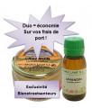 Pot diffuseur huile essentielle lavande et sa recharge